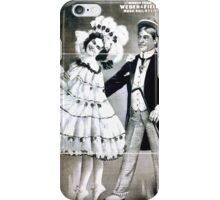 Performing Arts Posters Joseph Hart Vaudeville Co direct from Weber Fields Music Hall New York City 1821 iPhone Case/Skin