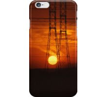 Powered Sunset iPhone Case/Skin