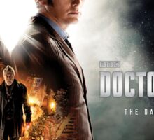 Doctor Who - Day of the Doctor Poster Sticker
