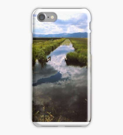 Sky Mirror iPhone Case/Skin