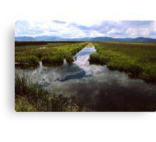 Sky Mirror Canvas Print