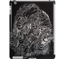 DOODDLE IN WHITE INK iPad Case/Skin