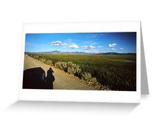 Roadside Photographer Greeting Card
