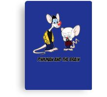 Pinkman and the brain - Breaking Bad/ Pinky and the brain Canvas Print