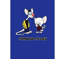 Pinkman and the brain - Breaking Bad/ Pinky and the brain Photographic Print