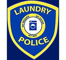 Laundry Police  Photographic Print