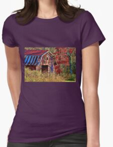 Autumn Barn     Womens Fitted T-Shirt
