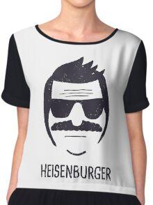 Heisenburger Chiffon Top