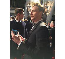 Tom Hiddleston Bafta Photographic Print