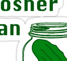 Can she pickle it? Kosher can Sticker