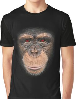 3D red eye monkey Graphic T-Shirt