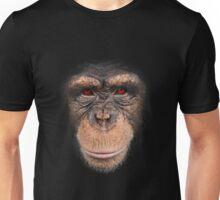 3D red eye monkey Unisex T-Shirt