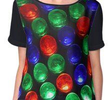 Colorful Disco Lights Chiffon Top