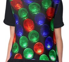 Colorful Disco Lights Chiffon Top