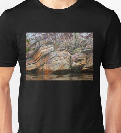 Granite Rock Formations, Granite Lake, Sask. Canada Unisex T-Shirt