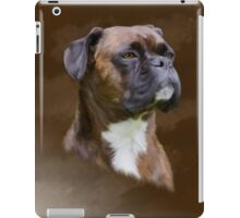 Boxer Dog Oil Painting Art Portrait iPad Case/Skin