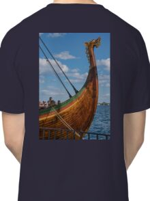 The Beautifully Carved Prow of the Draken Harald Harfragre Classic T-Shirt