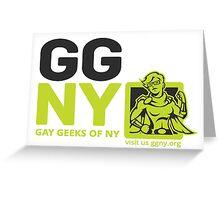 Jae - Green GGNY Hero Sticker Greeting Card