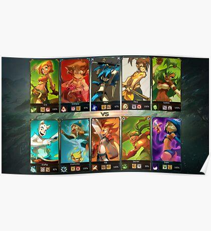 Dofus x League of Legends Poster