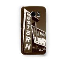Route 66 - Western Motel Samsung Galaxy Case/Skin