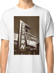 Route 66 - Western Motel Classic T-Shirt