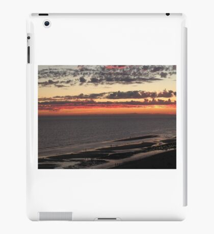 Red Sundown iPad Case/Skin