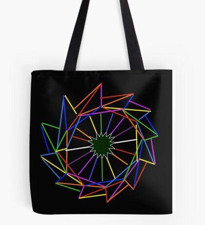 Star of Rainbows Tote Bag