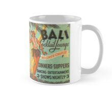 Bali Hula Dancer Cocktail Lounge Ad - Vintage Matchbook Cover Mug