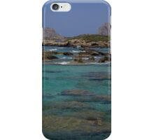 The Magical Blue Water of Greece iPhone Case/Skin