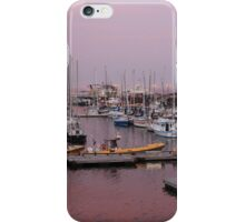 Purple Sunset Tadoussac Harbour iPhone Case/Skin