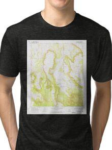 USGS TOPO Map Arizona AZ Loco Knoll 312133 1968 24000 Tri-blend T-Shirt