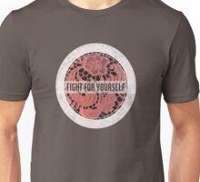 Fighting with Florals Unisex T-Shirt