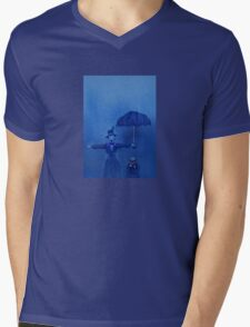 Rain Mens V-Neck T-Shirt