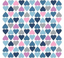 Diamond Hearts Pink by ProjectM
