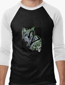 root 2 all evil Men's Baseball ¾ T-Shirt
