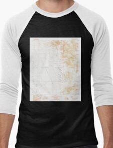 USGS TOPO Map Arizona AZ Castle Dome Peak 310761 1990 24000 Men's Baseball ¾ T-Shirt