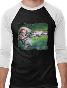 Holtzmann's New Toys Men's Baseball ¾ T-Shirt