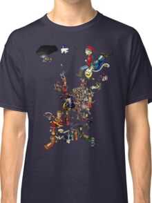 Renaissance Europe National Personification Map Classic T-Shirt