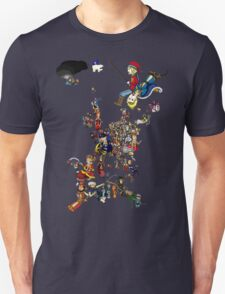 Renaissance Europe National Personification Map Unisex T-Shirt