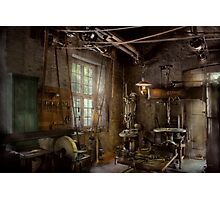 Machinist - Industrial revolution Photographic Print