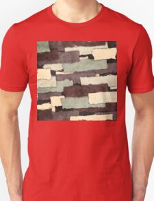 Textured Layers Abstract Unisex T-Shirt