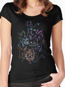 Eeveelutions Women's Fitted Scoop T-Shirt
