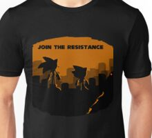 Join the resistance-sonic 2017 Unisex T-Shirt