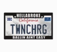 License Plate w/ Frame - TWINCHARGED by TswizzleEG