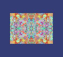 Compass Multi-colour Bold Organic Living Art Design Fractal Unisex T-Shirt