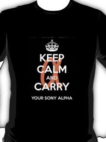 Sony Alpha  T-Shirt