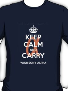 Sony Alpha  T-Shirt