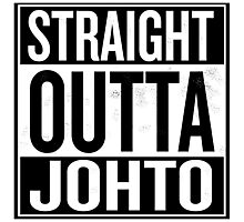 Straight Outta Johto Photographic Print
