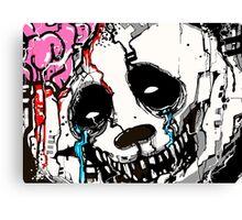 Misfit Panda Canvas Print