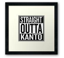 Straight Outta Kanto Framed Print